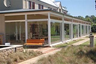 Clearview Sliding Stacking Glass system #12