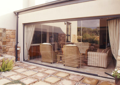 Clearview Sliding Stacking Glass system #13