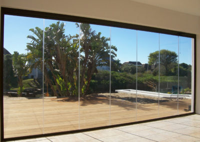 Clearview Sliding Stacking Glass system #23