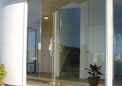 Pivot Door Single with Sidelight #1